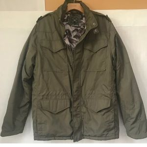 Lucky Brand Field Utility  Olive Green Jacket L